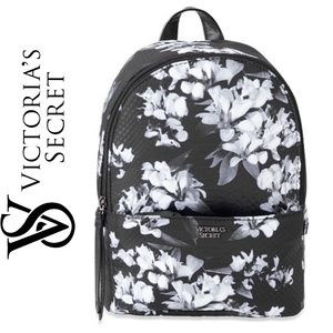 Just In! NWT VS Midnight Blooms Sm City Backpack